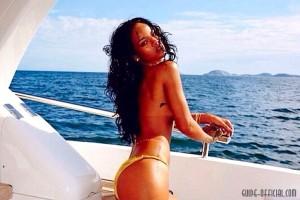 Певица Рианна снялась в откровенной фотосессии на яхте в Бразилии